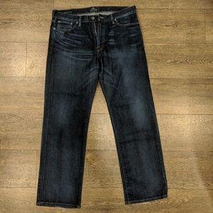 Lucky Brand dark vintage straight denim jeans